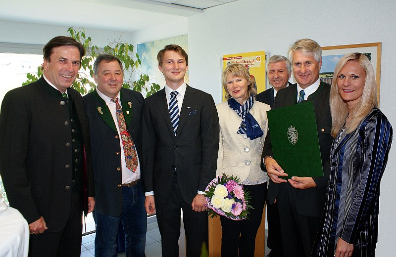 Fa. Rohrer Verleihung Landeswappen