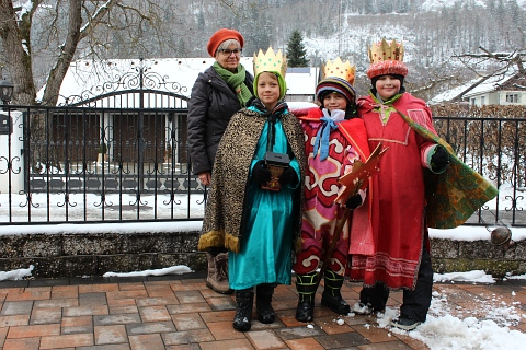 Sternsinger in Proleb