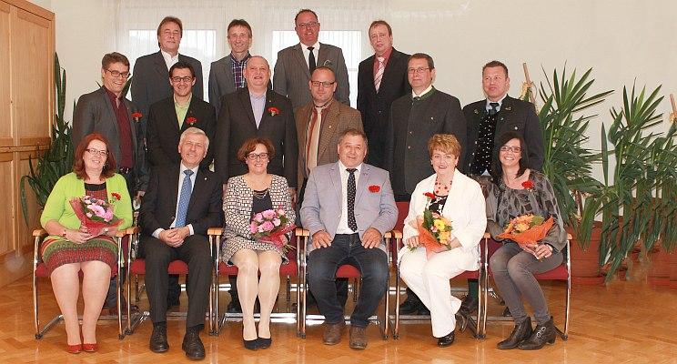 Angelobung des Proleber Gemeinderates, 17. April 2015