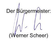 Bgm. Scheer Werner